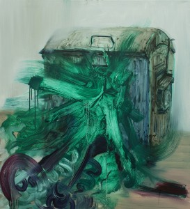 containers, painting, bartosz beda paintings 2013