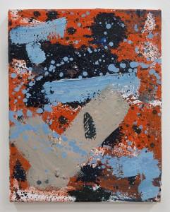 Bartosz Beda, Drops 01, bartosz beda paintings 2014