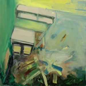 \Fusion next to the Desk, bartosz beda paintings 2012