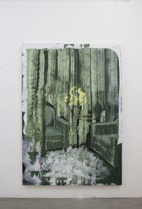 Green and Yellow, bartosz beda, paintings 2017, art, artist