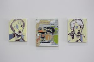 bartosz beda, paintings 2017