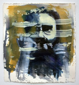 anxiety on paper, paintings, bartosz beda paintings 2013