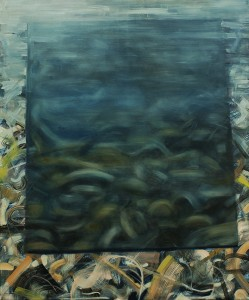 Reversed Landscape-transparent, painting, bartosz beda paintings 2013