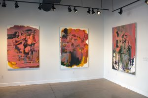 solo exhibition, bartosz beda, paintings 2016