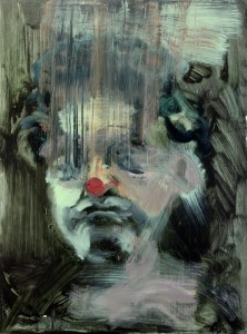 Woman with a Red Nose, bartosz beda paintings 2012