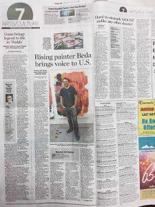 Spokesman Article: Bartosz Beda is an artist on the rise