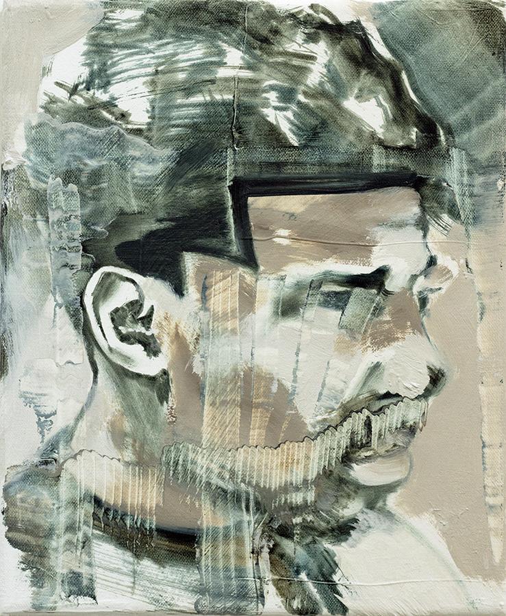 Bad Boys Have a Nice Haircut II, 2017, bartosz beda, paintings, artist