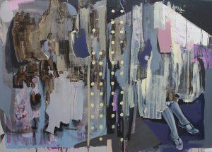Ten Starts From One III, paintings 2017, bartosz beda, beda art, beda paintings, bartoszbeda artist