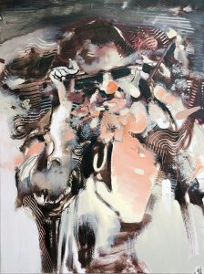 Goggle Woman – Paintings of Woman