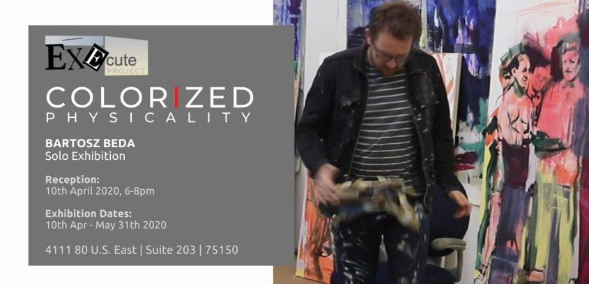 Dallas based artist, Execute Project, Bartosz Beda, solo exhibition 1