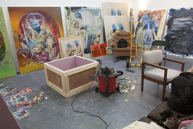 My Art Studio 2014 Throwback!