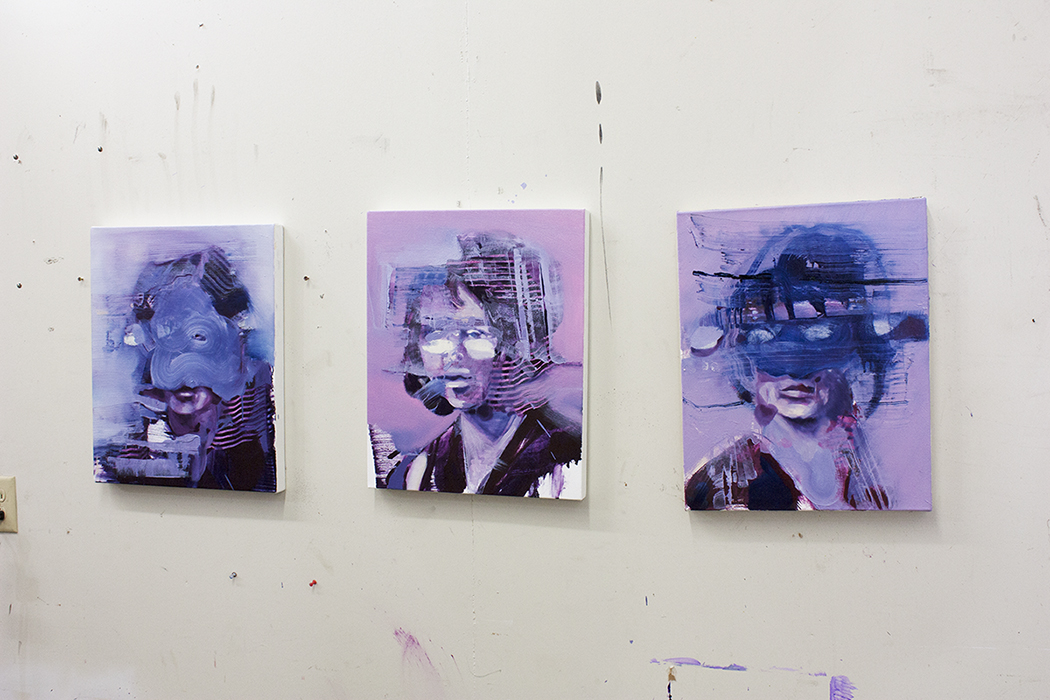 Painting of the Day, Repercussion II, Bartosz Beda Studio 3