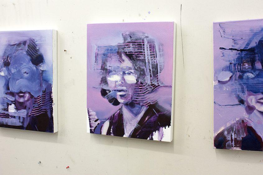 Painting of the Day, Repercussion II, Bartosz Beda Studio 4
