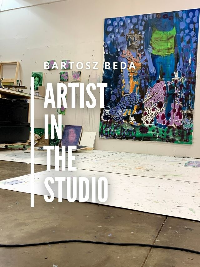 Read more about the article artist in the studio
