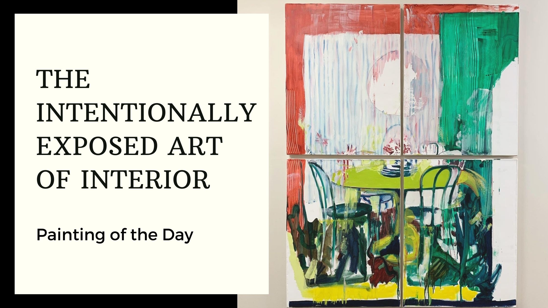 The Intentionally Exposed Art of Interior