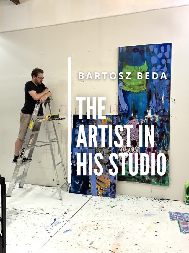 Read more about the article The Artist in his Studio